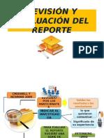 Diapos de Revision y Evaluacion Del Reporte