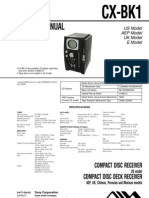 CX-BK1 Componente AIWA