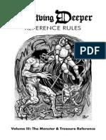 Delving Deeper Ref Rules v2 the Monster & Treasure Reference (6412349)