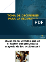 Toma de Decisiones Seguridad