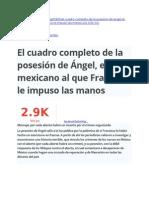 Caso Valencia - Cuadro Posesión de Ángel Michoacano