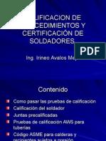3 Calificaciondeprocedimientosycertificacindesoldadores 090310093158 Phpapp01