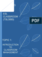 Topic 1_Concept of Classroom Management