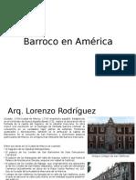 Barroco en America