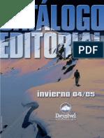 Catálogo Editorial Desnivel 2004-05
