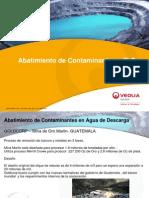 """""""Abatimiento de Contaminantes y Cero Descargas Líquidas en El Sector Minero """""""