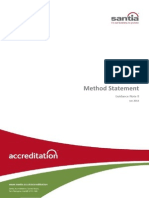 Electrical Method Statement Guidance Note SA GN 8 (V1) Jan 2014