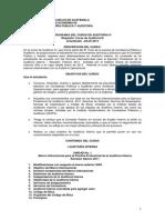 Programa de Auditoria IV 2013