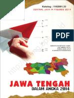 Jawa Tengah Dalam Angka 2014