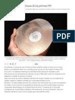 Los Verdaderos Problemas de Las Prótesis PIP _ Vanguardia