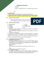 Memoria Descriptiva Informe 1
