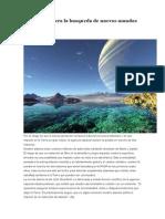 La NASA acelera la busqueda de nuevos mundos habitables.docx