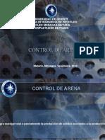 Pres. Control de Arena (ARREGLO 2) Ricardo Sanchez