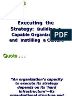 Building a Capable Organization and Instilling a Culture