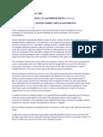 Valdez vs CA (accion interdictal vs accion publiciana vs accion reivindicatoria)