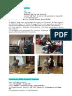 Teachers Training Programs 2014-15