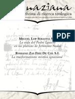 Ignaciana, Rivista Di Ricerca Teologica, 5-2008