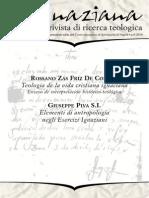 Ignaciana, Rivista Di Ricerca Teologica, 9-2010