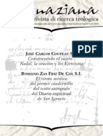 Ignaciana, Rivista Di Ricerca Teologica, 10-2010