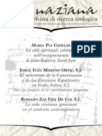 Ignaciana, Rivista Di Ricerca Teologica, 11-2011