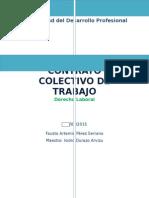 Reporte de Lectura Contrato Colectivo de Trabajo PEMEX