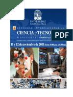 Memorias Congreso de Ciencia y Tecnología URBE 2011