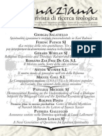 Ignaciana, Rivista Di Ricerca Teologica, 17-2014