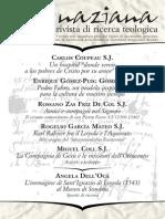 Ignaciana, Rivista Di Ricerca Teologica, 18-2014