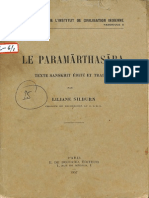 Le Paramartha Sara 1957 - Liliane Silburn