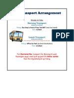 130623 RG Transport Arrangement