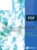 Sodium and Potassium Silicates Brochure ENG Oct 2004