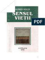 Sensul Vietii - Alfred Adler