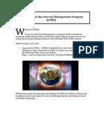 Orientation Material ESMP