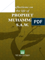 Reflections on the Life of Prophet Muhammad s.a.w.