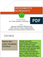 NEURODERMATITIS PPT