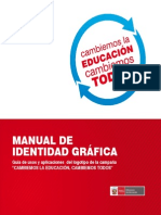 Manual de Identidad MINEDU