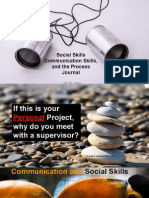 May 1, 2015 - Communication and Social Skills - Process Journal - Mr Jesse