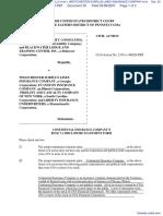 BLACKWATER SECURITY CONSULTING, LLC et al v. WESTCHESTER SURPLUS LINES INSURANCE COMPANY et al - Document No. 33