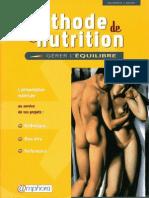Methode de Nutrition