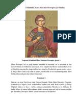 Acatistul Sfântului Mare Mucenic Procopie