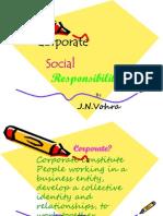 Corporate Social Responsibility -A Presentation