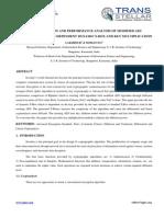 1. Mathematics - Ijmcar - Implementation and Performance Analysis - Lakshmi r