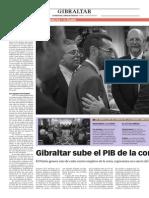 150714 La Verdad CG- Gibraltar Sube El PIB de La Comarca en 775 Millones Pp. 6 y 7