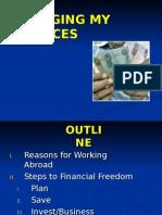 5 Managing My Finances Revised July2011