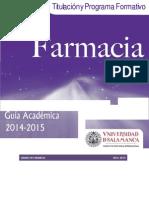 Grado en Farmacia 2014-2015