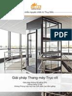 Catalog thang máy gia đình Cibes Thụy Điển - Www.cibeslift.com.Vn