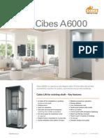 Thang máy gia đình Cibes A6000