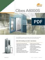 Cibes A6000S - Thang máy gia đình dạng Cabin