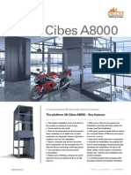 Cibes A8000 - Thang máy gia đình dạng platform tải trọng lớn