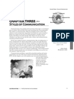 Styles of Communications